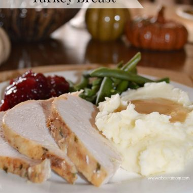 How to cook a turkey in the slow cooker. Turkey isn't just for Thanksgiving. Use this slow cooker turkey breast recipe to enjoy turkey any time of the year.