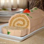 The Swiss Colony Pumpkin Swirl Cake for Thanksgiving