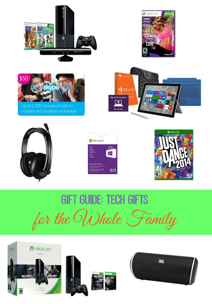 Gift Guide Tech Gifts for the Whole Family at Microsoft store