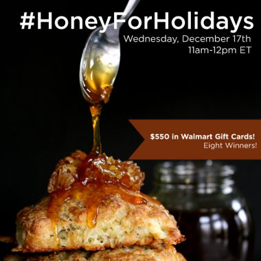 RSVP for the #HoneyForHolidays Twitter Party