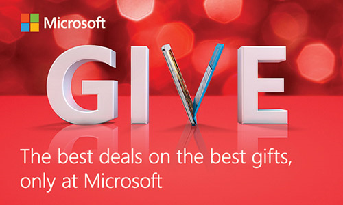 Tech Gifts for the Whole Family at the Microsoft Store