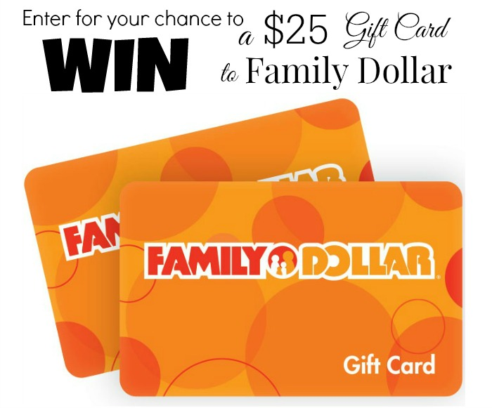 Family Dollar Giveaway at About A Mom