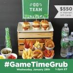 RSVP for the #GameTimeGrub Twitter Party on Jan 28!