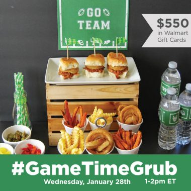 #GameTimeGrub Twitter Party