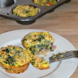 Greek Inspired Low Carb Egg Muffins Recipe
