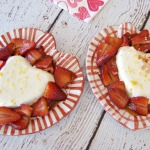 Panna Cotta with Balsamic Strawberries 550 pixels 150