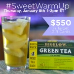 RSVP for the #SweetWarmUp Twitter Party on 1/8 at 1pm ET