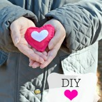 Valentine Craft DIY Heart Hand Warmers