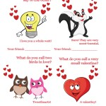 Does your child love jokes? Download and print out these printable funny Valentine's Day cards. These humorous Valentines are sure to make classmates chuckle. Anyone would love getting one of these cards. There are 8 different designs available to download and print for free.