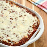 Baked Spaghetti Freezer Meal Recipe