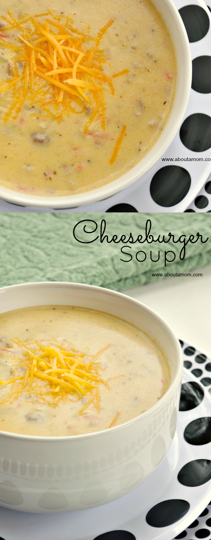 Cheeseburger Soup Recipe