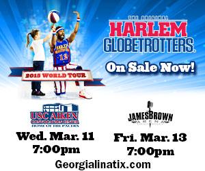 Harlem Globetrotters Trivia, plus win tickets to see the Harlem Globetrotters in Augusta and Aiken!