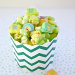 Magically Delicious Lucky Charms Popcorn is such a fun St. Patrick's Day treat!