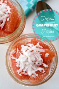 Tropical Grapefruit Parfait Recipe