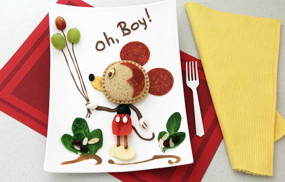 Smucker's Uncrustables Food Art for Kids