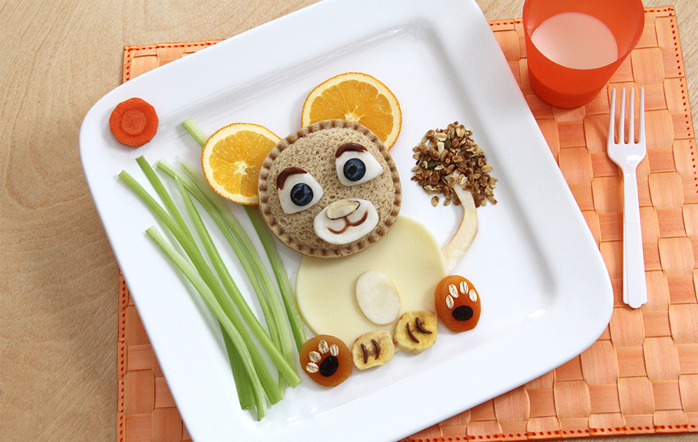 Smucker's Uncrustables Food Art for Kids