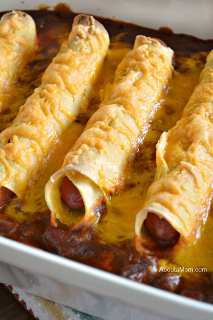 This 4-Ingredient Chili Dog Casserole recipe is a fun and delicious twist on an old classic!