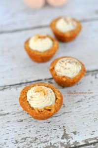 Carrot Cake Cookie Cups are a sweet Easter dessert!