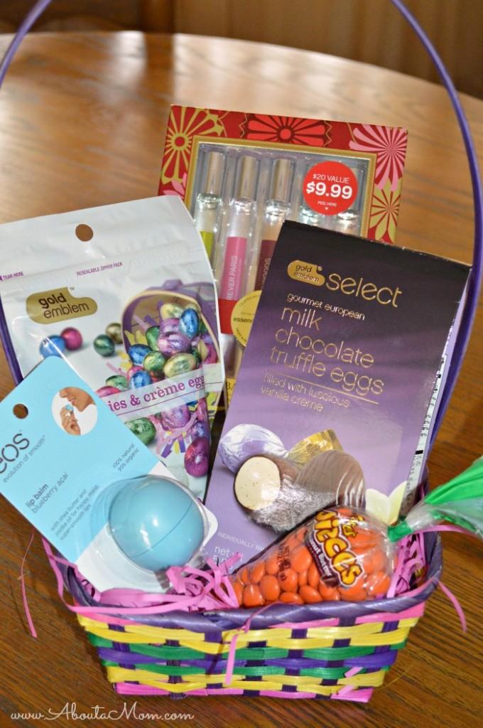 DIY Easter Basket Goodies from CVS