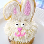 The cutest ever Easter Bunny Cupcakes!