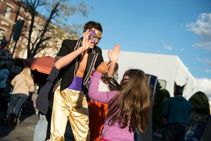 Family Fun at Universal Orlando Mardi Gras