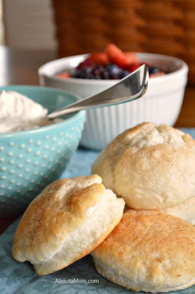 Mixed Berry Shortcakes made with old fashioned baking powder biscuits are the ultimate spring and summer dessert.