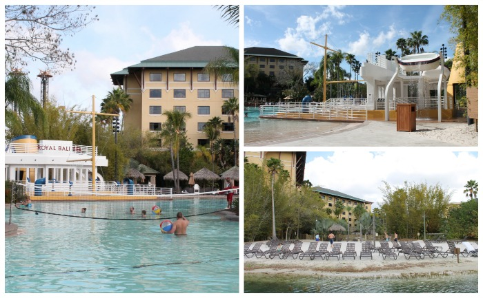 Poolside at Loews Royal Pacific Resort at Universal Orlando