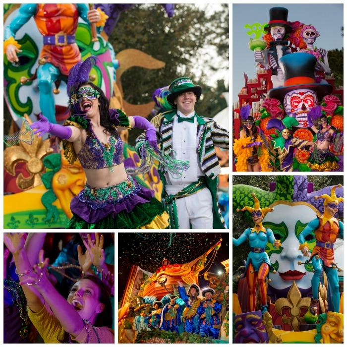 Universal Orlando Mardi Gras Parade