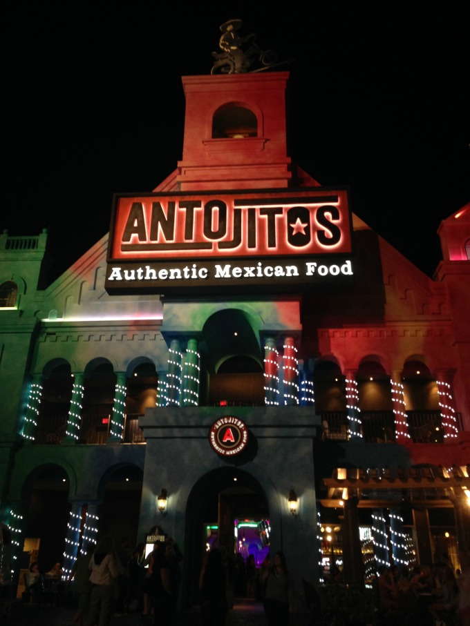 Where to Eat at Universal CityWalk - Antojitos Authentic Mexican Food