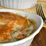 Chicken Pot Pie Recipe for Two #ChefTails