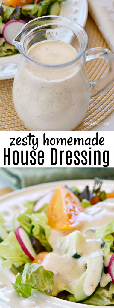 Zesty Homemade House Dressing Recipe