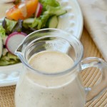 Enjoy your summer salads even more with this zesty homemade house dressing. This delicious homemade salad dressing is simple to make and has big flavor!