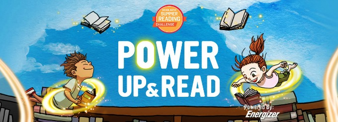 Scholastic Summer Reading Challenge - Power Up and Read