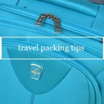 Travel Packing Tips and a Chance to Win a Trip for 4 to Orlando from Atlantic Luggage!