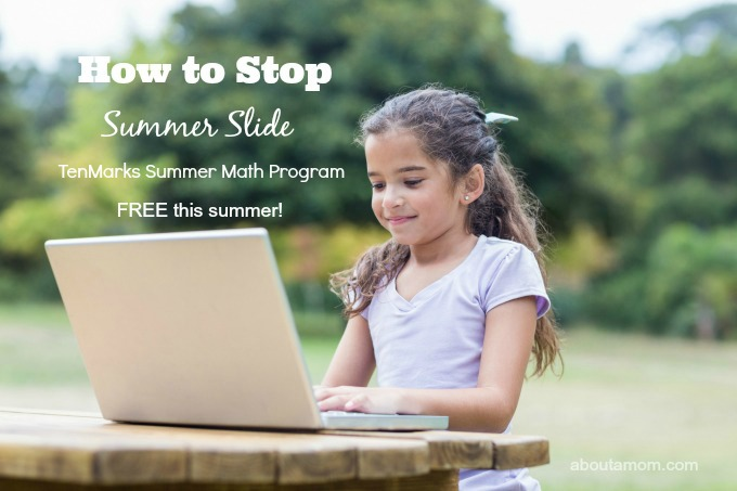 No more worrying about the summer slide. The TenMarks Summer Math Program is being offered for free this summer. The TenMarks Math online learning program lets children learn at their own pace and allows parents to set rewards.