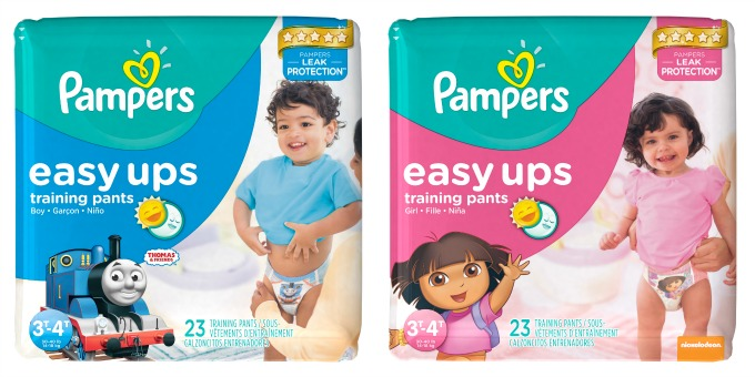 Potty Training Tips with Pampers Easy Ups