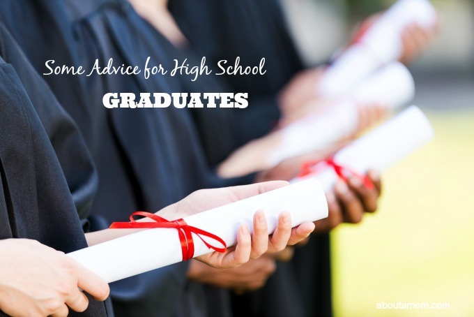 Some Advice for High School Graduates