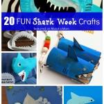 20 Fun Shark Week Crafts for Kids