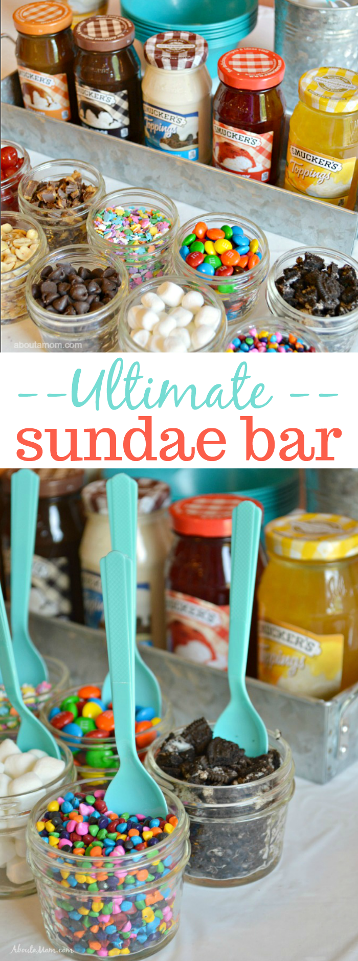 Build Your Own Sundae Bar - The Ultimate Summer Party