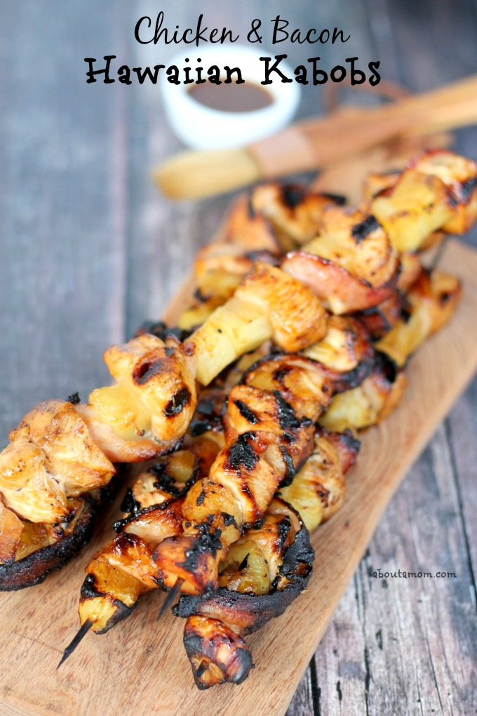 Chicken & Bacon Hawaiian Kabobs
