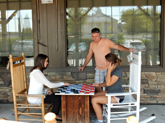 Family Dinner, Shopping and Fun at Cracker Barrel