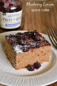 Blueberry Lemon Spice Cake