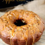 Butterscotch Apple Cake recipe. Loaded with tart apples and cinnamon and topped with a sweet butterscotch topping, this flavorful bundt cake is the best of the fall season.