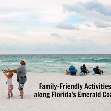 Florida's Emerald Coast beaches are a popular family vacation destination. After fun in the sun, check out these fun family activities along Florida's Emerald Coast.