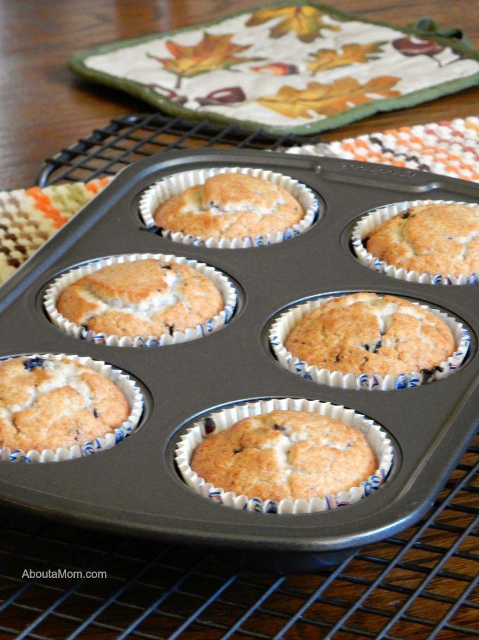 Martha White Gluten Free Blueberry Muffins