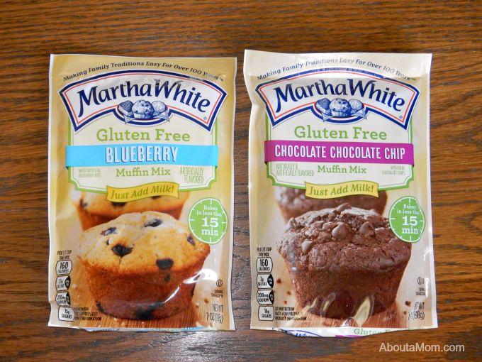 Martha White Gluten Free Muffin Mixes