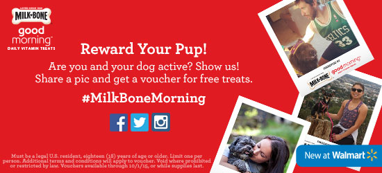 Milk-Bone Good Morning Giveaway