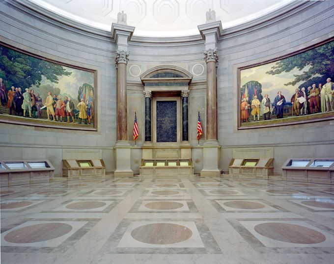 The Rotunda for the Charters of Freedom @ The National Archives Museum, Washington, DC