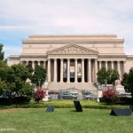 The National Archives in Washington DC
