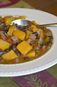 Butternut Squash and Black Bean Chili Recipe